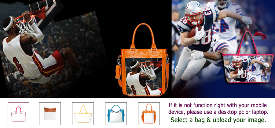 Fans Handbags Express Your Fanaticism Of Loved Sports Teams And Players Nba Mlb Nfl Nhl College